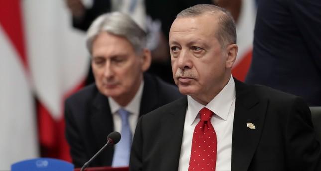 President Recep Tayyip Erdoğan attends the G20 summit in Buenos Aires, Argentina, Nov. 30.