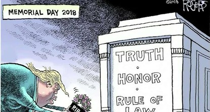 Cartoonist fired from US newspaper after drawings critical of Trump