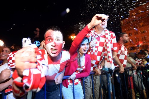 Jubilant Croatia vs. England in despair: How semifinal result was met at home