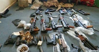 الأمن التركي يضبط كميات كبيرة من الأسلحة والذخائر لـ بي كا كا الإرهابي