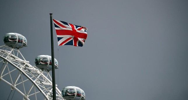 A Union Jack flag flies above the London Eye in London, Britain, September 11, 2017. (Reuters Photo)