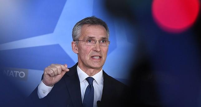 الأمين العام لحلف الناتو، ينس ستولتنبرغ (EPA)