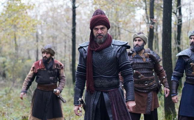 A scene from popular Turkish TV series Resurrection Ertuğrul.