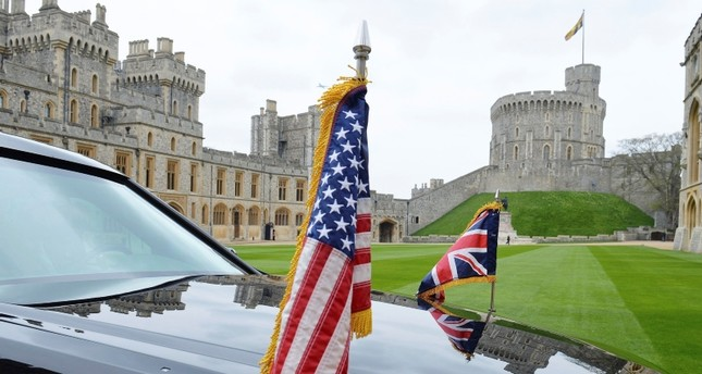 In this April 22, 2016 file photo a view of a  US Presidential Cadillac in the quadrangle of Windsor Castle, in Windsor, England. (AP Photo)