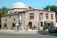  Historische osmanische Taşköprü Moschee in Plovdiv, Bulgarien (AA Foto)