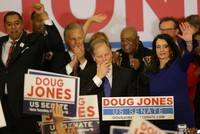 In a stunning victory aided by scandal, Democrat Doug Jones won Alabama's special Senate election Tuesday, beating back history, an embattled Republican opponent and President Donald Trump, who...