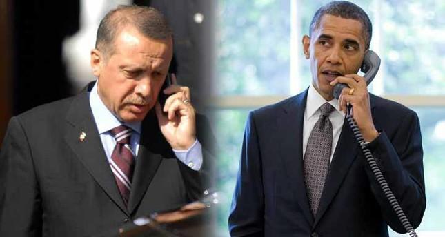 Erdoğan und Obama sprechen über Syrienkrise, Daesh und PKK
