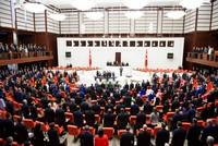Turkey's new 600-seat parliament sworn in