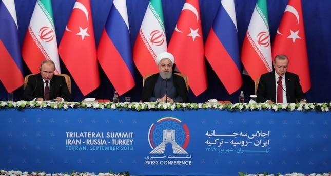 Syrien-Gipfel in Teheran: Keine militärische Lösung