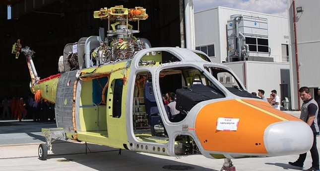 Prototype of the T625 Multirole Helicopter (TAI/AA Photo)