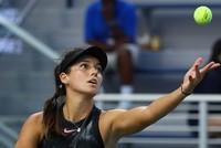 """Die türkische Tennisspielerin Ipek Soylu und ihre belgische Partnerin Elise Mertens schafften es am Mittwoch ins Viertelfinale des """"WTA-Turniers von Osaka"""
