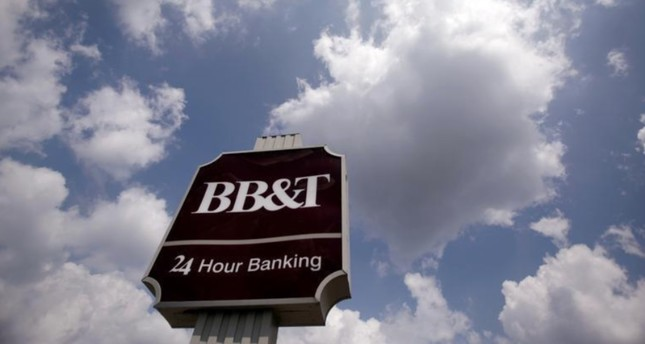 A BB&T bank branch sign is seen in Arlington, Virginia, August 14, 2009.