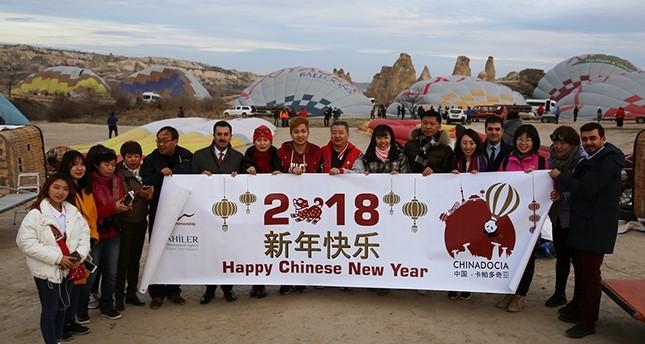 فعاليات ونشاطات على مدار العام في كابادوكيا احتفالاً بالسياح الصينيين