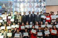 تركيا تقدم دورة تدريبية في التصوير لـ30 شابًا سوريًا وتركياً الأناضول