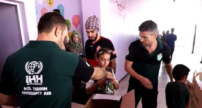 Turkish state agencies, NGOs increase efforts for Idlib
