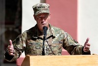 Top Afghan official killed, US general unhurt in shooting
