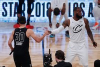 Team LeBron rallies from behind to beat Team Stephen in NBA All-Star Game