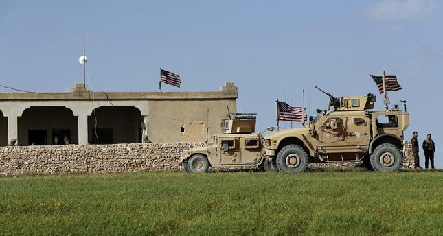 U.S. soldiers in Manbij, Syria, March 29, 2018.