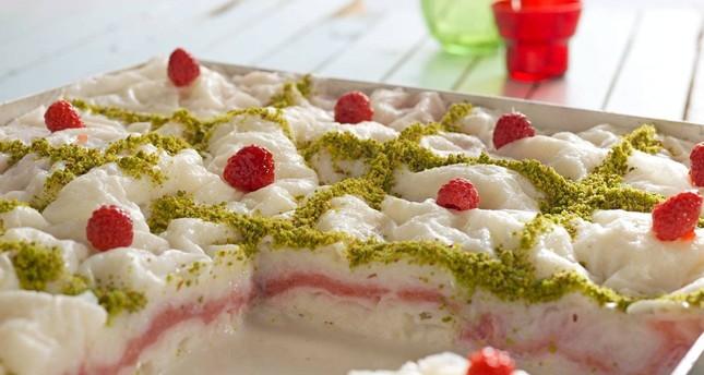 Güllaç is a lighter choice for Ramadan sweet.