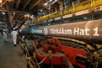 Gazprom says Turkish Stream pipeline project 80 percent complete