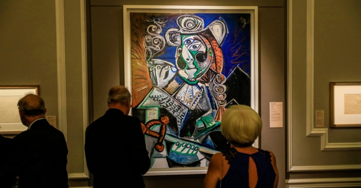 Picasso's works will be on display in u0130zmir until Jan. 5, 2020.