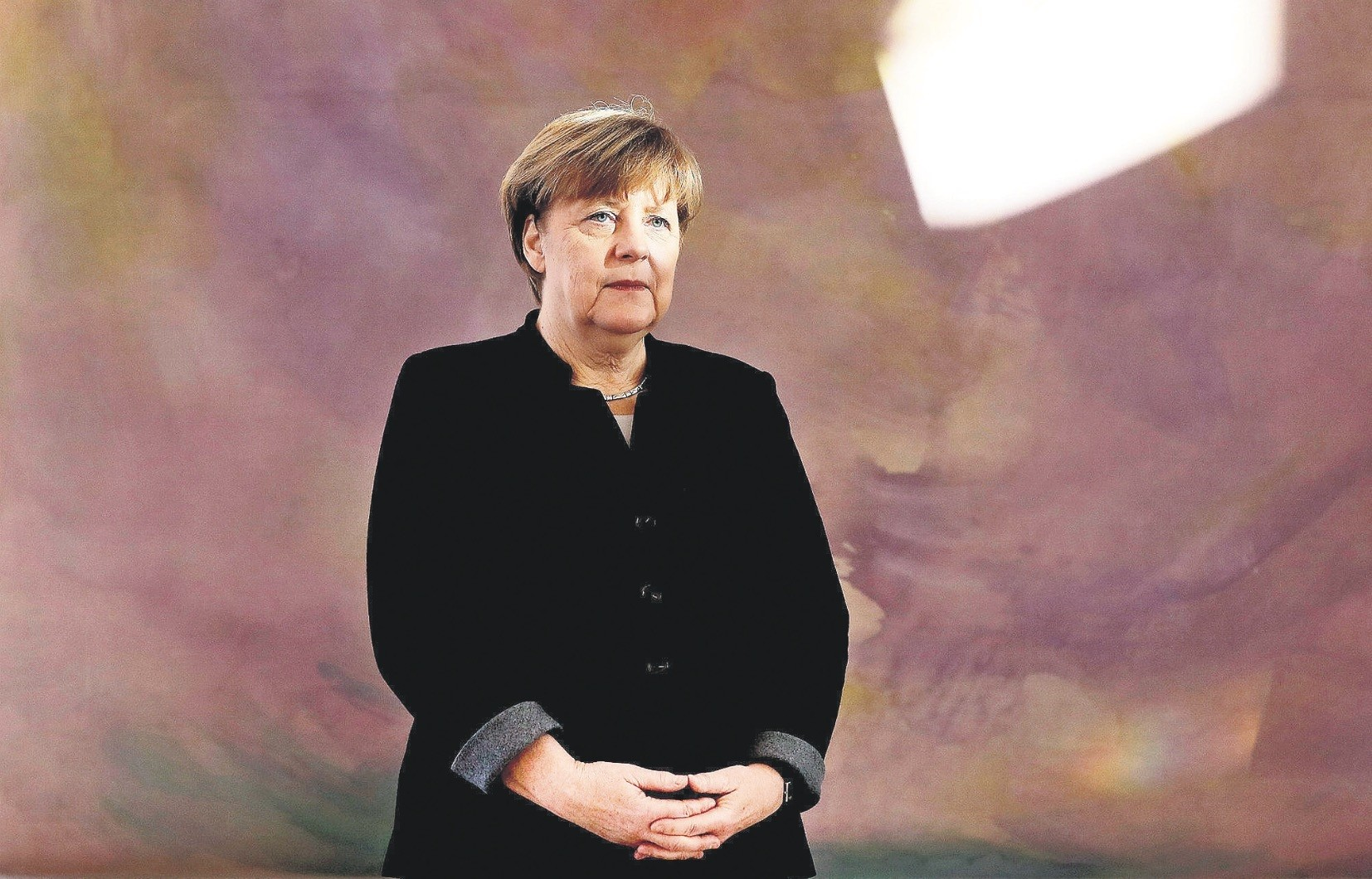 German Chancellor Angela Merkel hopes for a re-run of the grand coalition that has governed Germany for the last four years.
