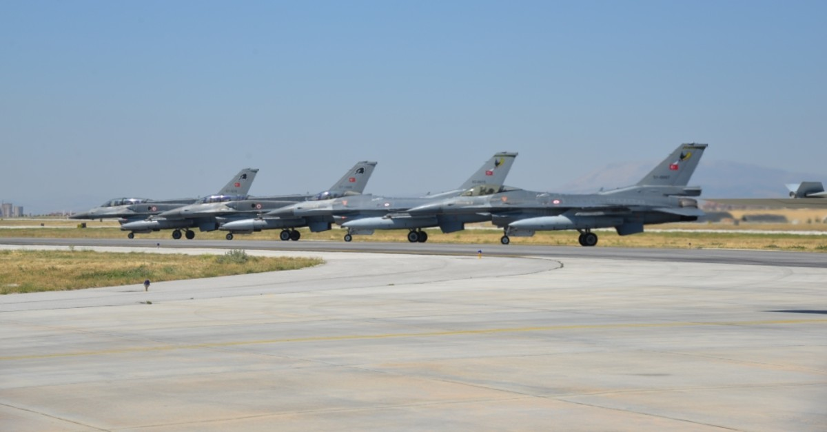 A military air drill took place in the central Konya province with the participation of multiple countries, June 26, 2019.
