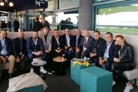 لقاء بين مدراء تنفيذيين لماركات التجزئة التركية الرائدة مع الصحفيين على هامش معرض MAPIC في فرنسا.