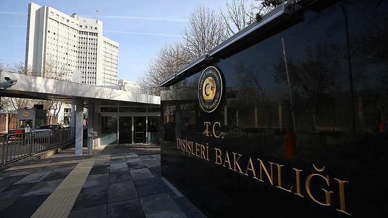 Compound of the Turkish Foreign Ministry in Ankara (AA File Photo)