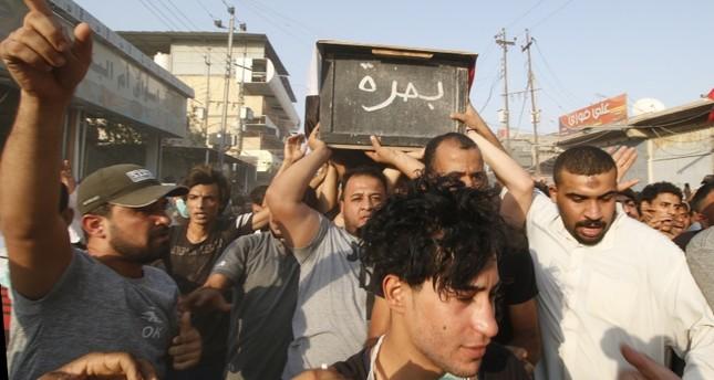 تركيا توصي مواطنيها في البصرة بالابتعاد عن مناطق المظاهرات