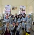 نساء سوريات وتركيات يتشاركن تجربة صناعة الصابون الحلبي