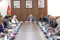 لجنة الصداقة التركية الأردنية تلتقي وفداً برلمانياً في الأردن.