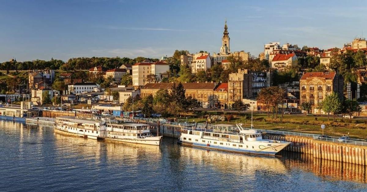The river Sava in Serbia's capital Belgrade. (iStock Photo)