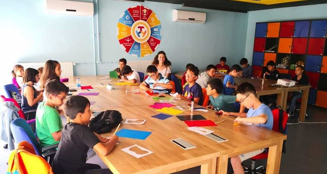 Workshop lessons on robotics, coding and electronic programming started, as of July 16.