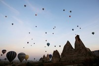 Более 2,5 миллиона туристов посетили Каппадокию