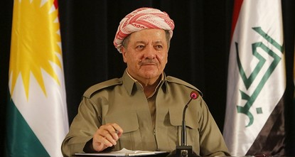 pKurdistan Regional Government (KRG) leader Masoud Barzani said late Tuesday that the 'yes' vote had won with nearly 92% in the independence referendum held on Monday./p  pUrging Iraqi Prime...