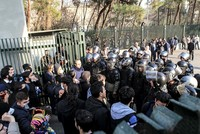 2 shot by Iranian forces as anti-government protests reach Tehran