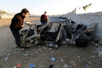 A car packed with explosives blew up on Thursday in southern Baghdad, killing at least 39 people and wounding about 20, security and medical sources said.  The vehicle was parked in a crowded...