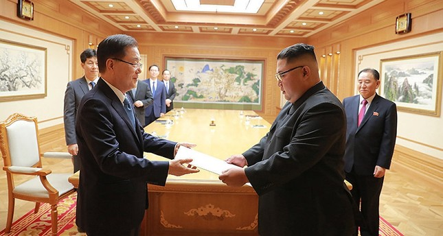 كيم جونغ أون يجدد التزامه الراسخ بإخلاء شبه الجزيرة الكورية من الأسلحة النووية