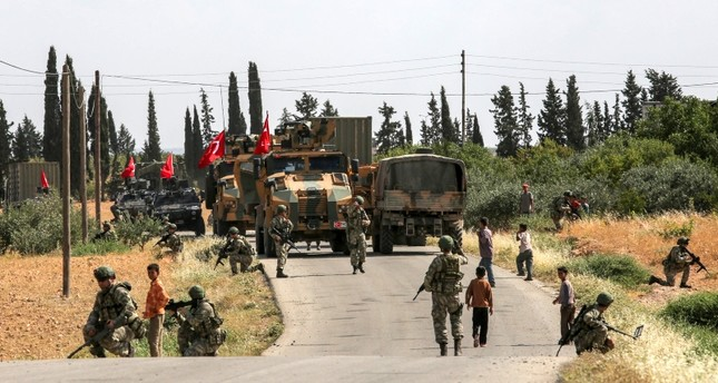 Turkish military conducts 7th round of patrols in Syria's Manbij, YPG's departure imminent