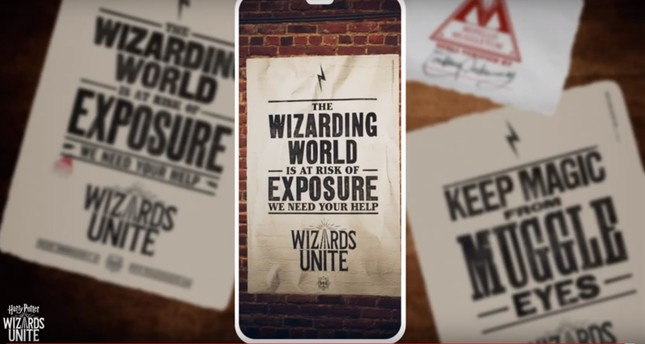 Screengrab from Harry Potter: Wizards Unite Youtube account.