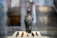 7000-year-old mystery statuette goes on display in Athens