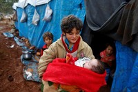 1 million children at risk in Syria's Idlib province, UN says