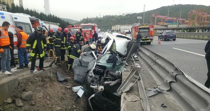 Scores killed in traffic collisions during bayram