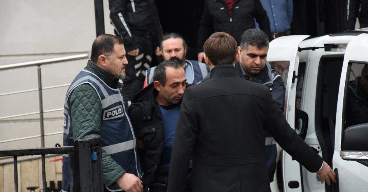 Murder suspect u00d6zgu00fcr Arduu00e7 is accused of killing a 20-year-old university student in northern Turkey's Ordu province (AA Photo)