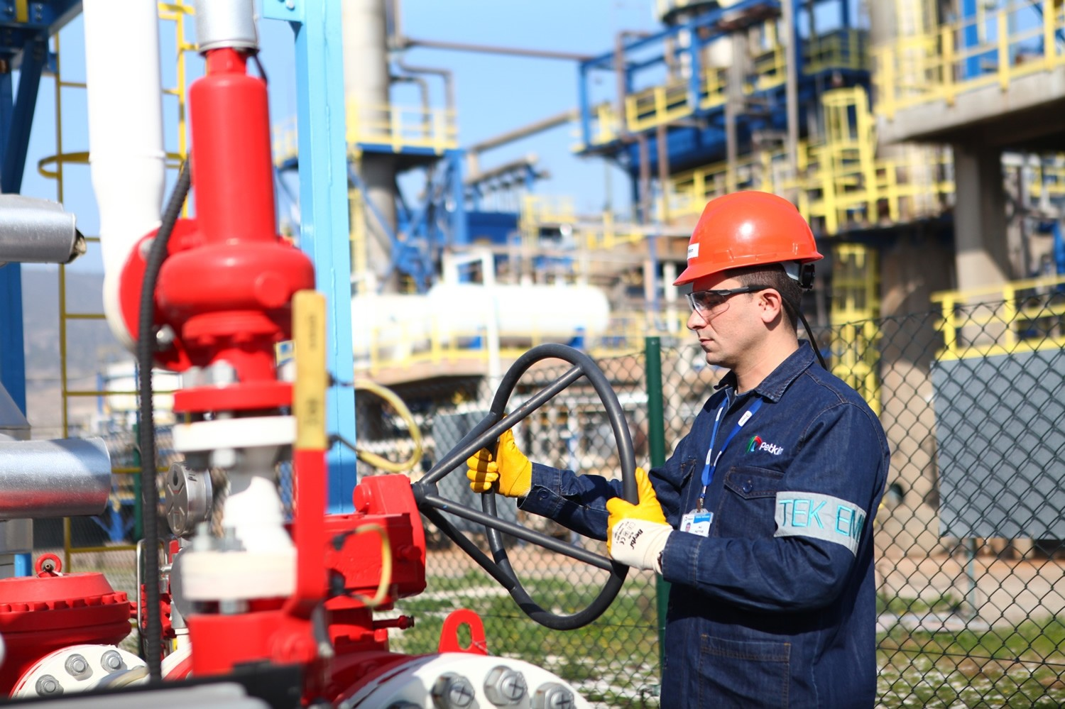 Petkim produces 3.6 million tons of petrochemical products, mostly sold in the domestic market.