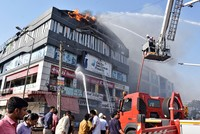 At least 18 students killed in fire in western India's Gujarat