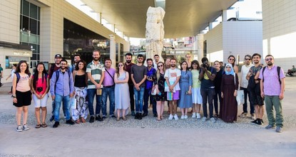 23 cinema students from 20 countries in Turkey's Gaziantep to watch and learn