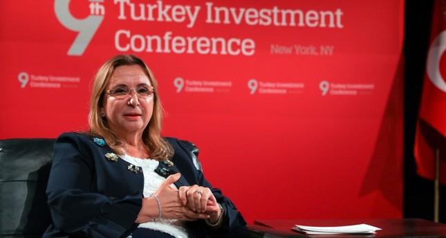 وزيرة التجارة التركية تعلن خطة تجارية جديدة لزيادة وتنويع الصادرات
