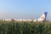 23 пострадали при аварийной посадке самолета в РФ